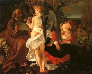 Caravaggio's Rest During the Flight to Egypt