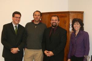 Daniel Roberts, Dr. Adam Afterman, AJ, Naomi Schenck