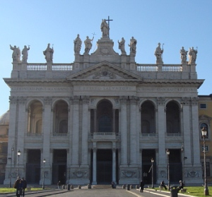 Cathedral of Christ the Savior, Sts. John the Baptist and the Evangelist, Rome