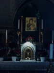 Our Lady of Perpetual Help, above altar at Church of St. Alphonsus Ligouri