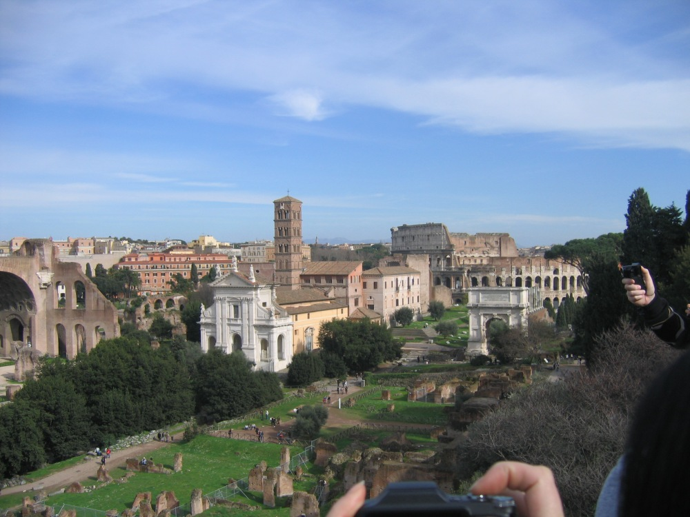 Roman Forum, Palatine Hill, and il Colosseo (1/6)