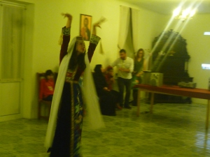 Traditional Armenian dance demonstration