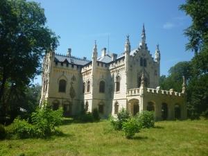 Studza Castle, Miclăuşeni