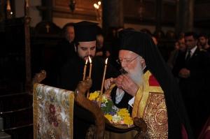 Archdeacon Maximos Patriarch Bartholomew