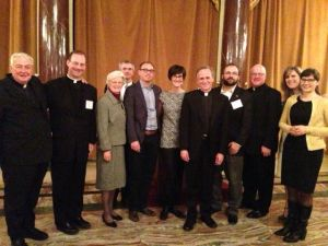 ND Club of Italy members with President John Jenkins, CSC
