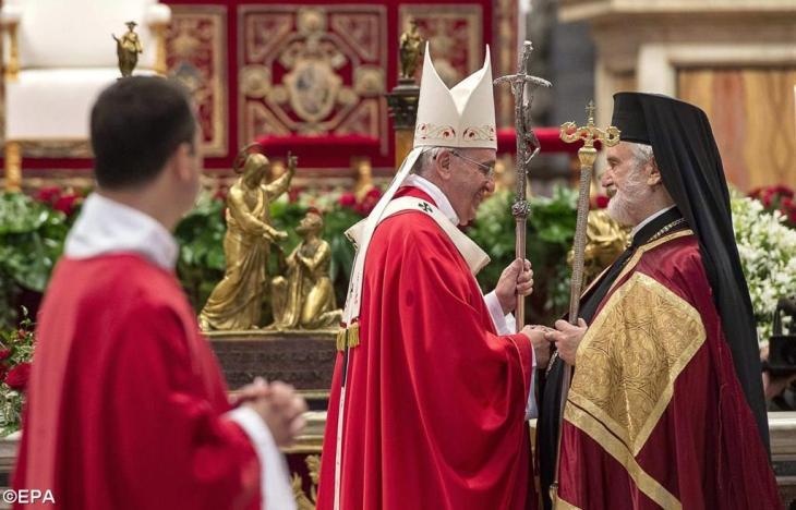 Pope Francis and Metropolitan John