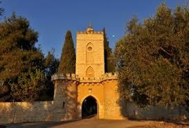 The Ottoman-era gate at Tantur